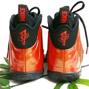 Nike Shoes - New Nike Lil Posite Big Boy 3.5 Habanero Red